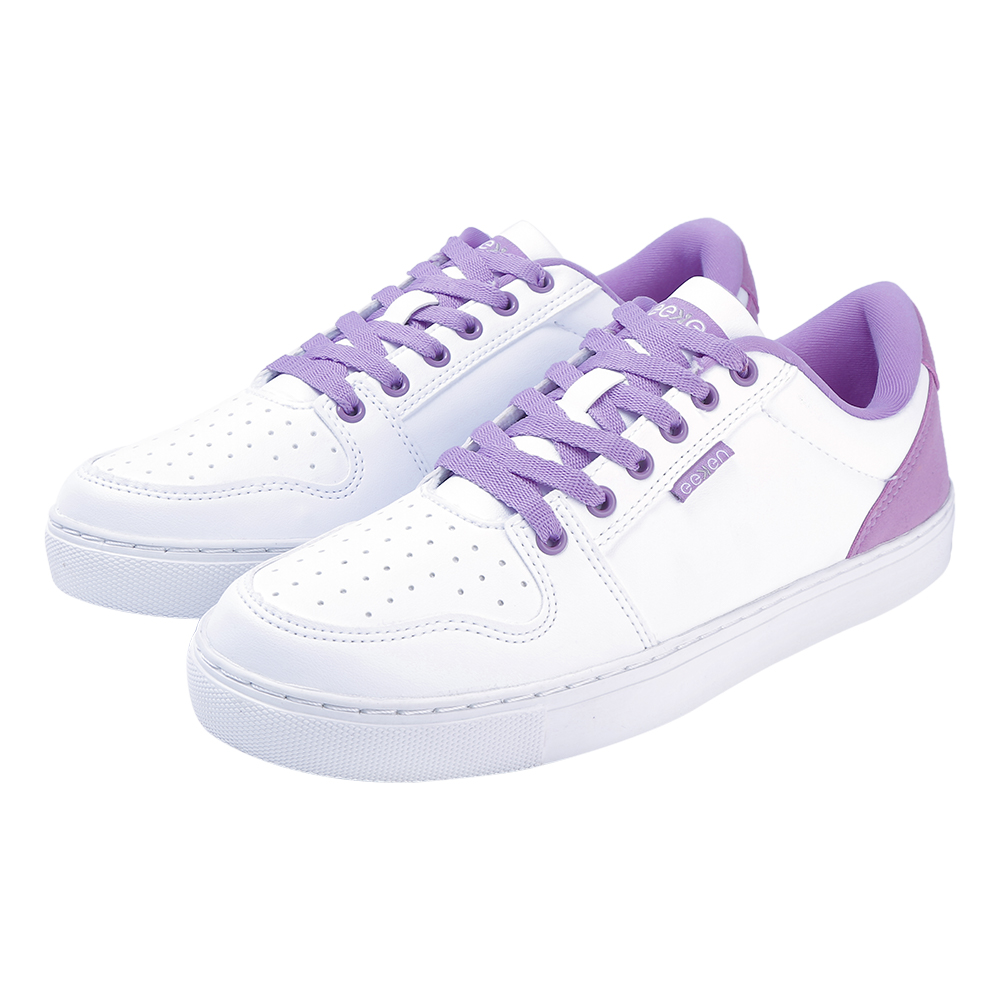 EEKEN   EEKEN White/Diffusion Orchid Lifestyle Lightweight Casual Shoes for Women (by Paragon)