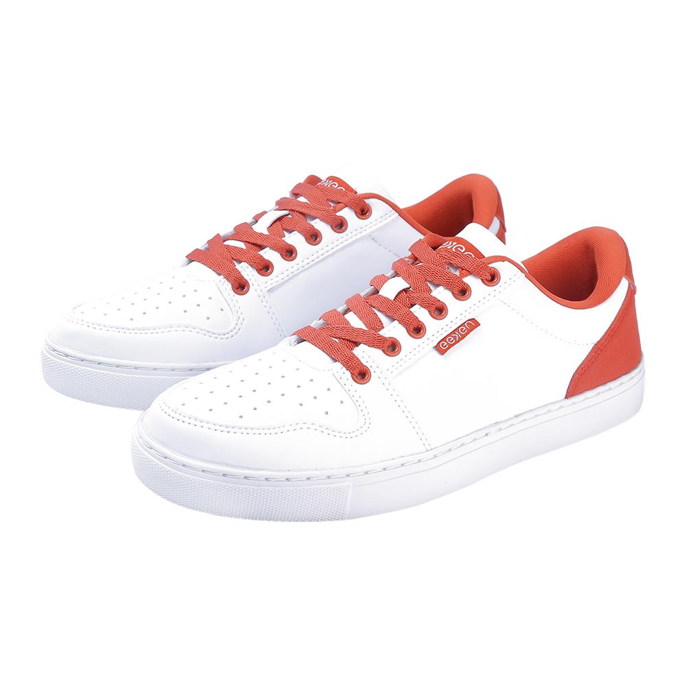EEKEN   EEKEN White/Melon Lifestyle Lightweight Casual Shoes for Women (by Paragon)