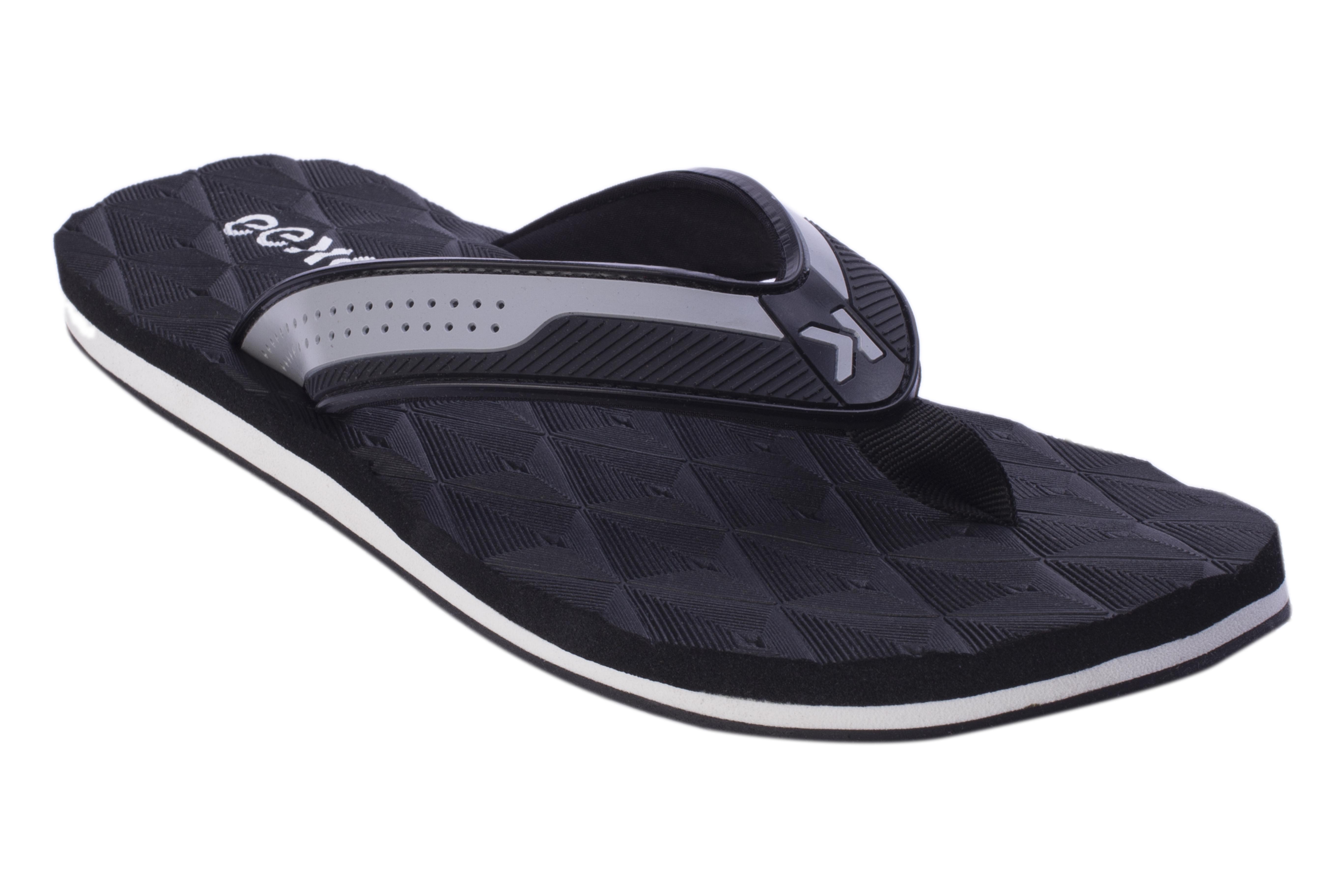 EEKEN | EEKEN Black Lightweight Flip-Flop for Men by Paragon