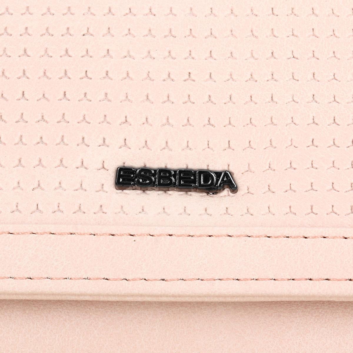 ESBEDA | ESBEDA Pink Color Solid Star Emboss Wallet For Women