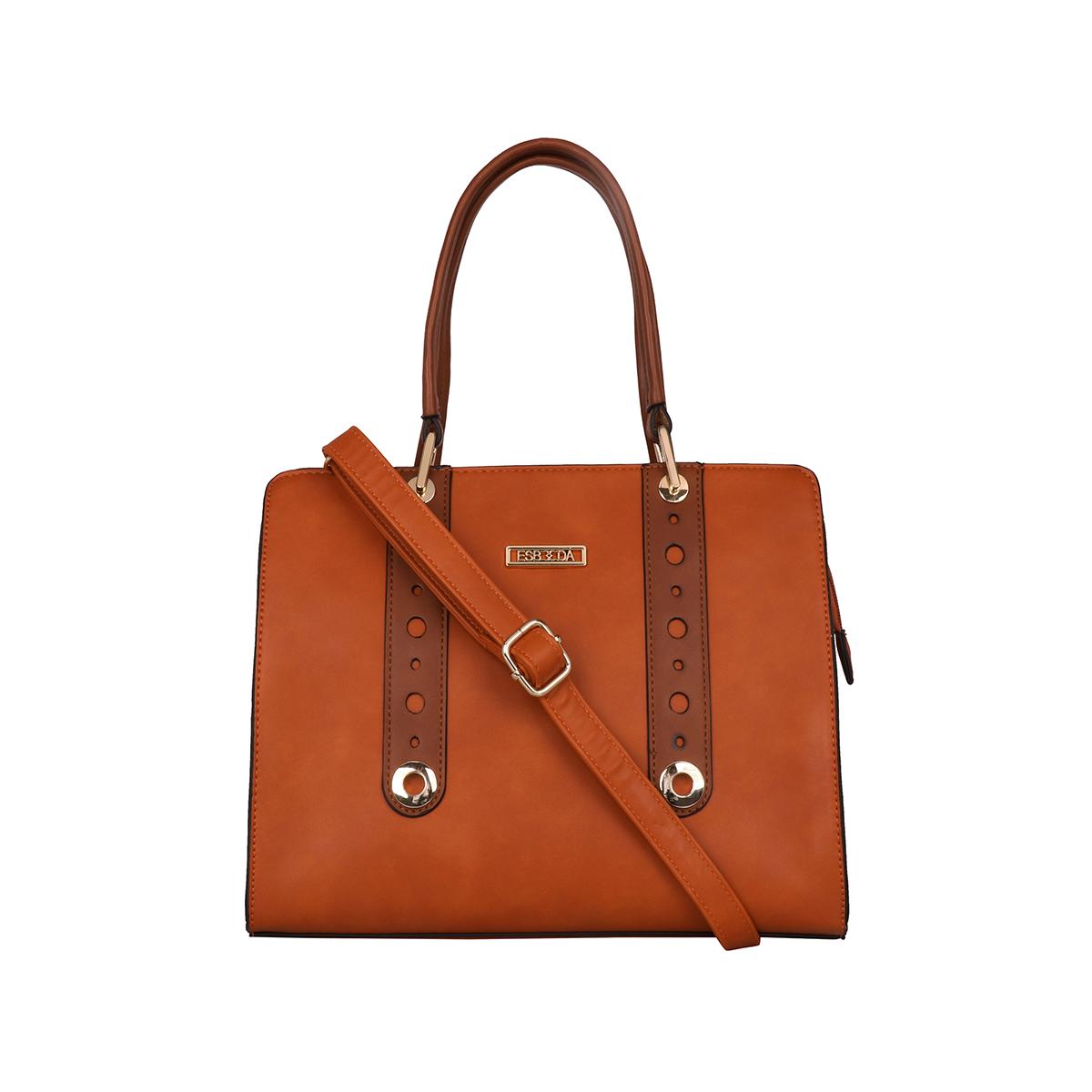 ESBEDA | ESBEDA Tan Colour Victor Handbag For Women