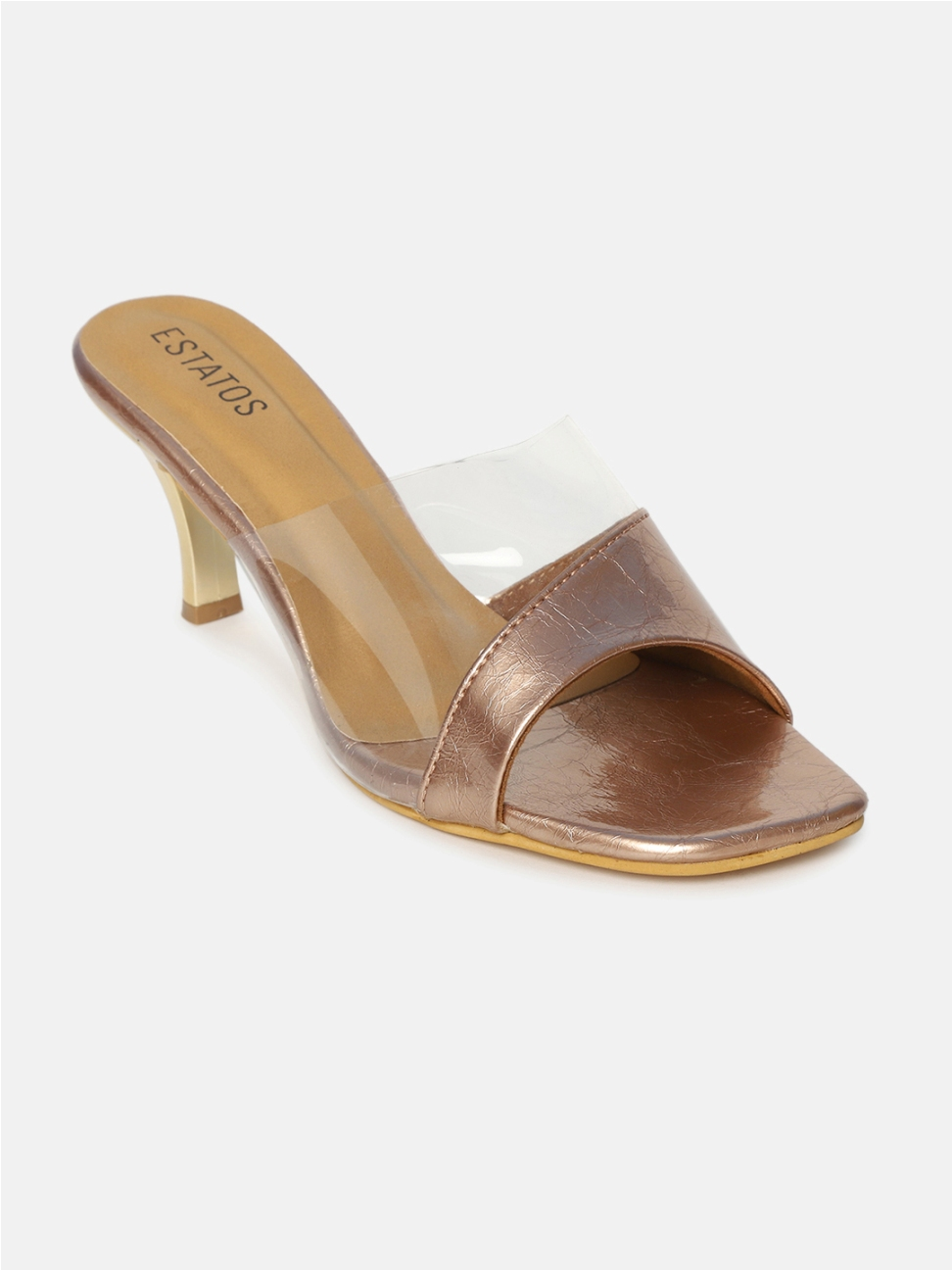 ESTATOS | Estatos Synthetic Leather Pointed Heeled Sandals