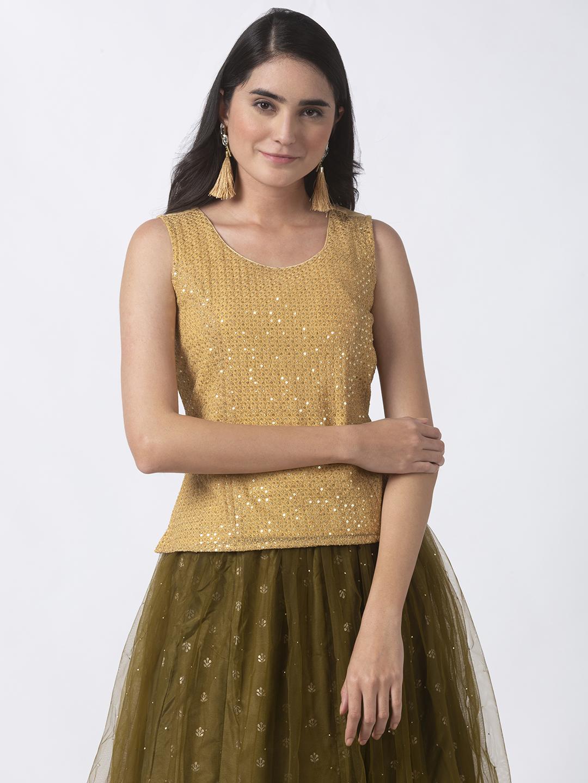 Ethnicity | Ethnicity Gold Shantoon Women Top