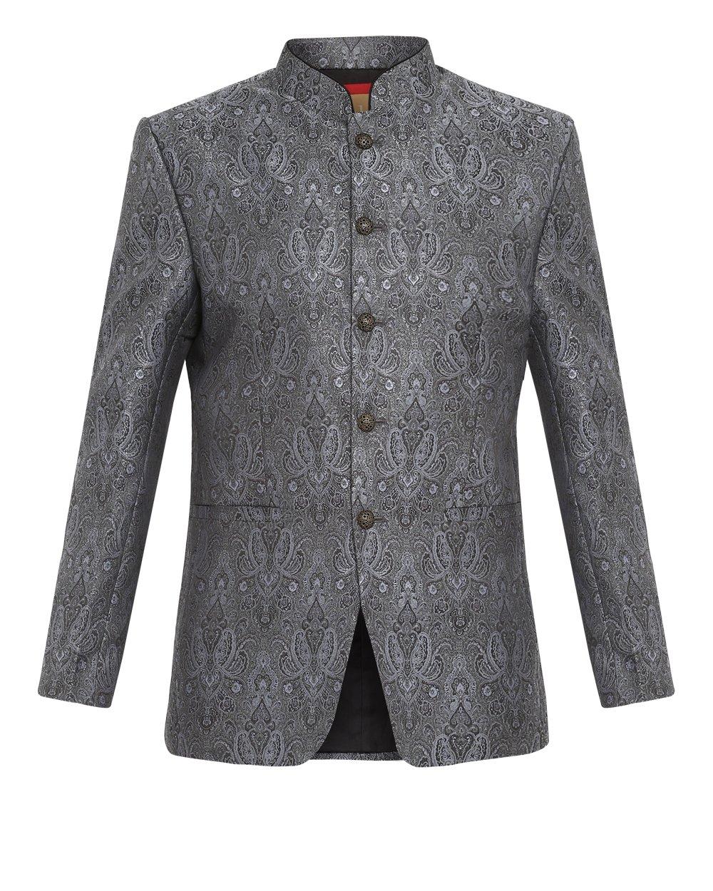 Ethnix by Raymond   Ethnix Light Grey Jacket