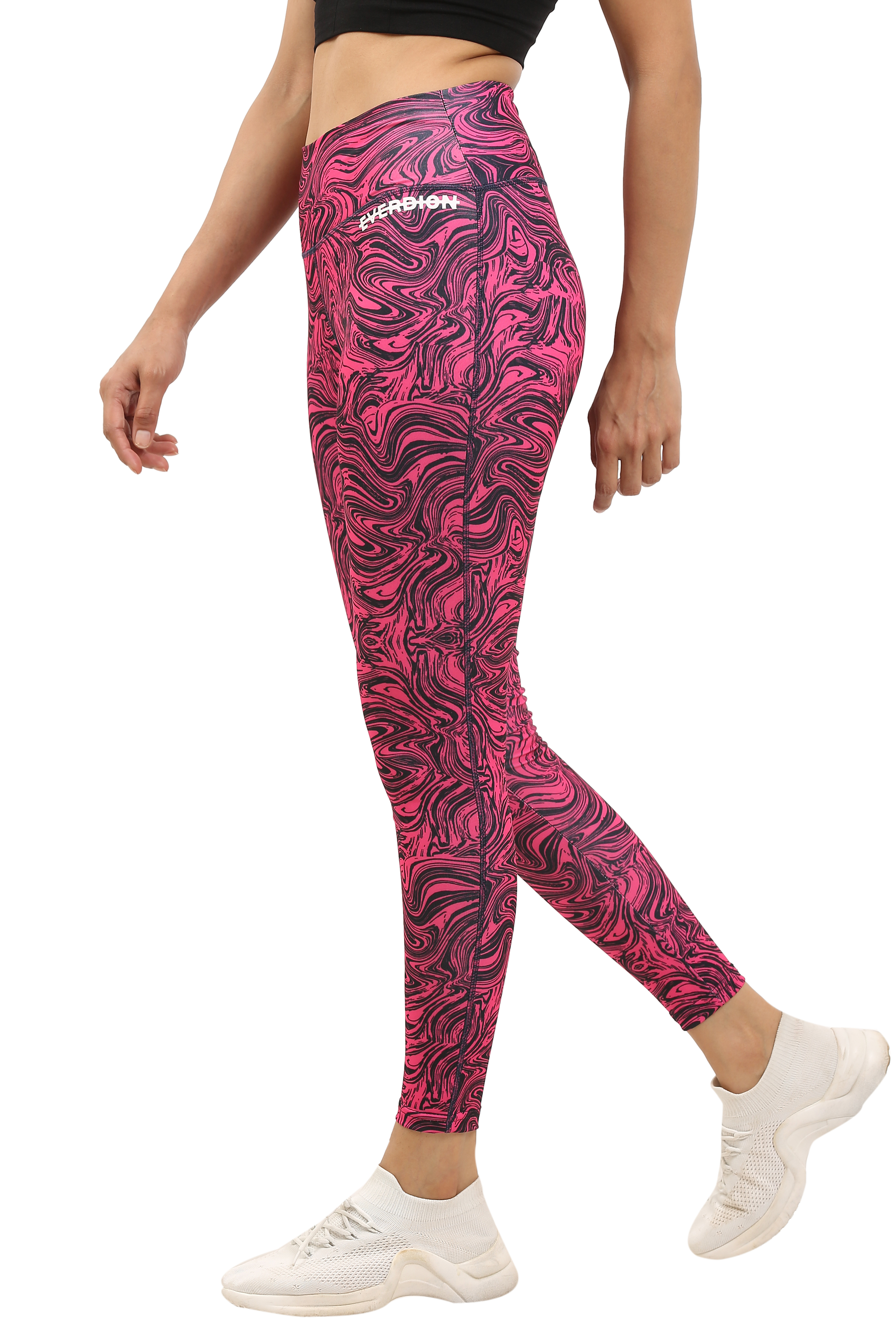 EVERDION | Pink Sports Leggings