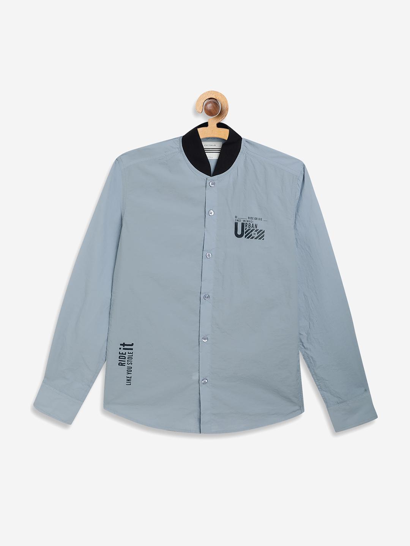 OCTAVE   Boys SKY Casual Shirts