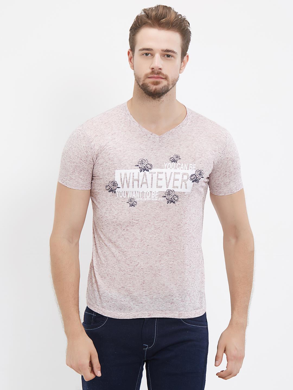 FITZ | Pink Printed Tshirt