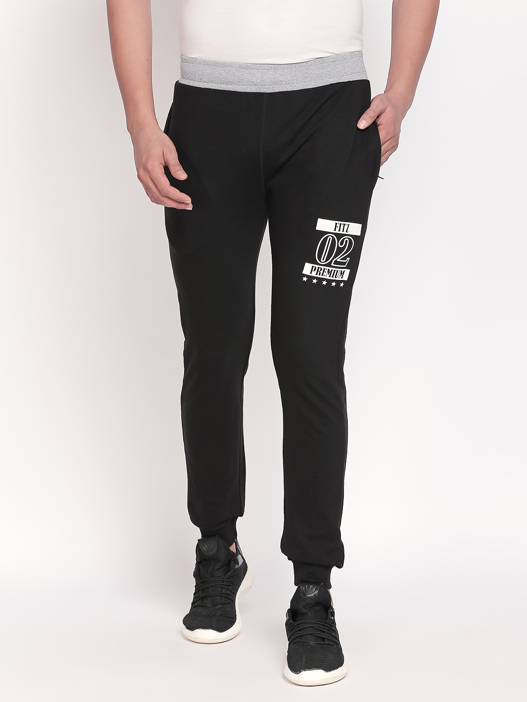 FITZ   Fitz Cotton Blend Trackpant For Men