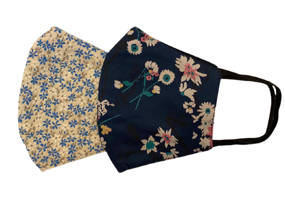 SOC PERFORMANCE | Reusable Protective Floral Facemasks (Pack of 2)