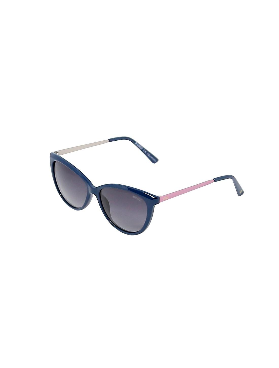 ENRICO | ENRICO Rylen Classic Designer UV Protected Cateye Sunglasses for Women ( Lens - Grey | Frame - Blue)