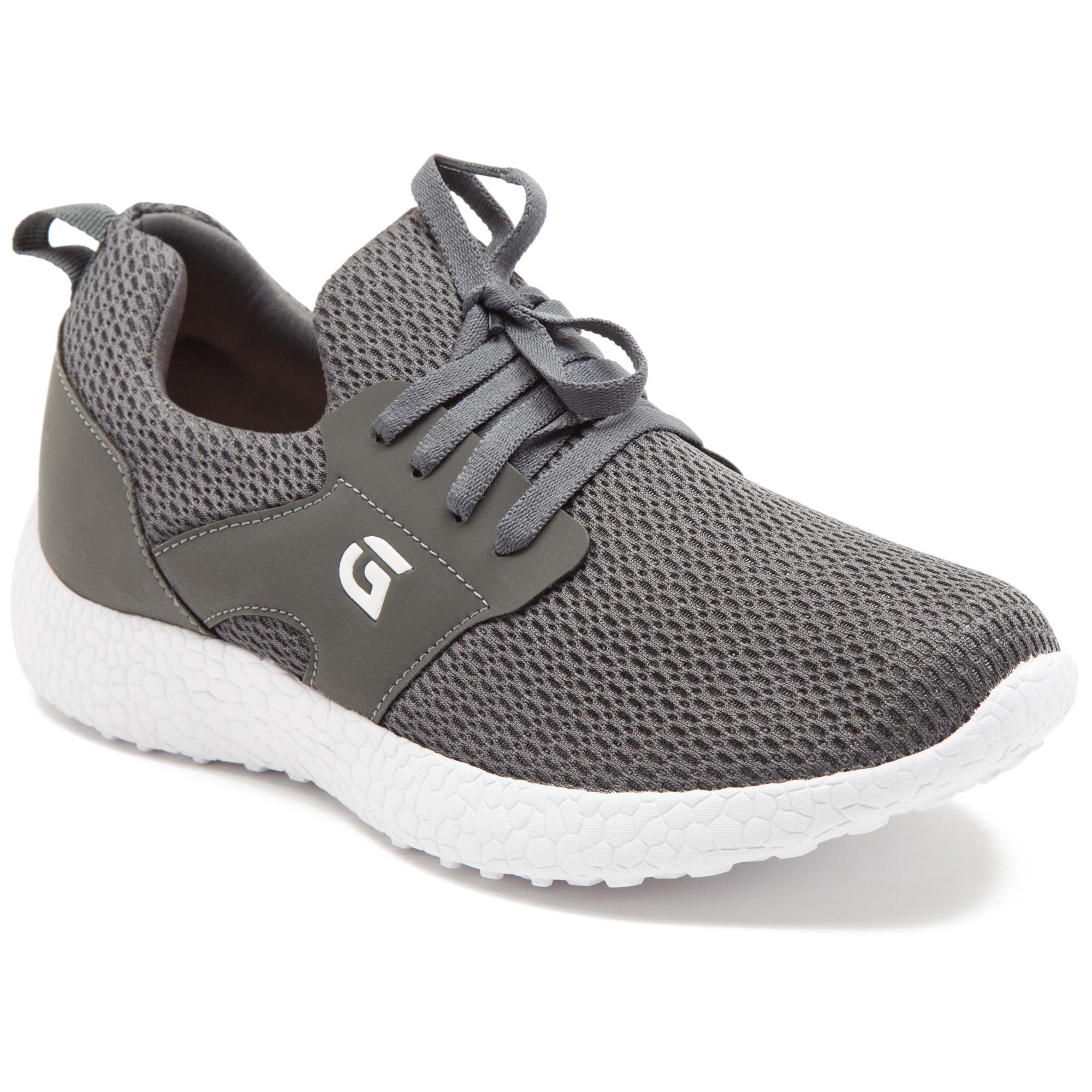 GANUCHI | Ganuchi by Franco Leone Women's Mesh Grey Running Shoes
