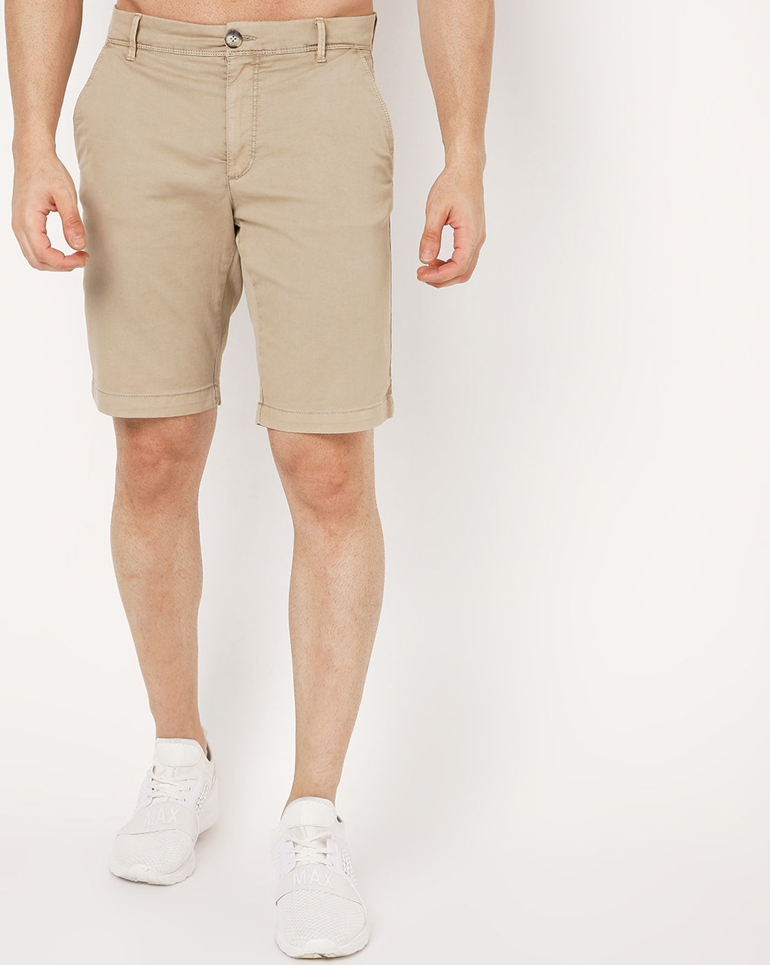 GAS | Men's Grimm Short Up Beige Solid Short