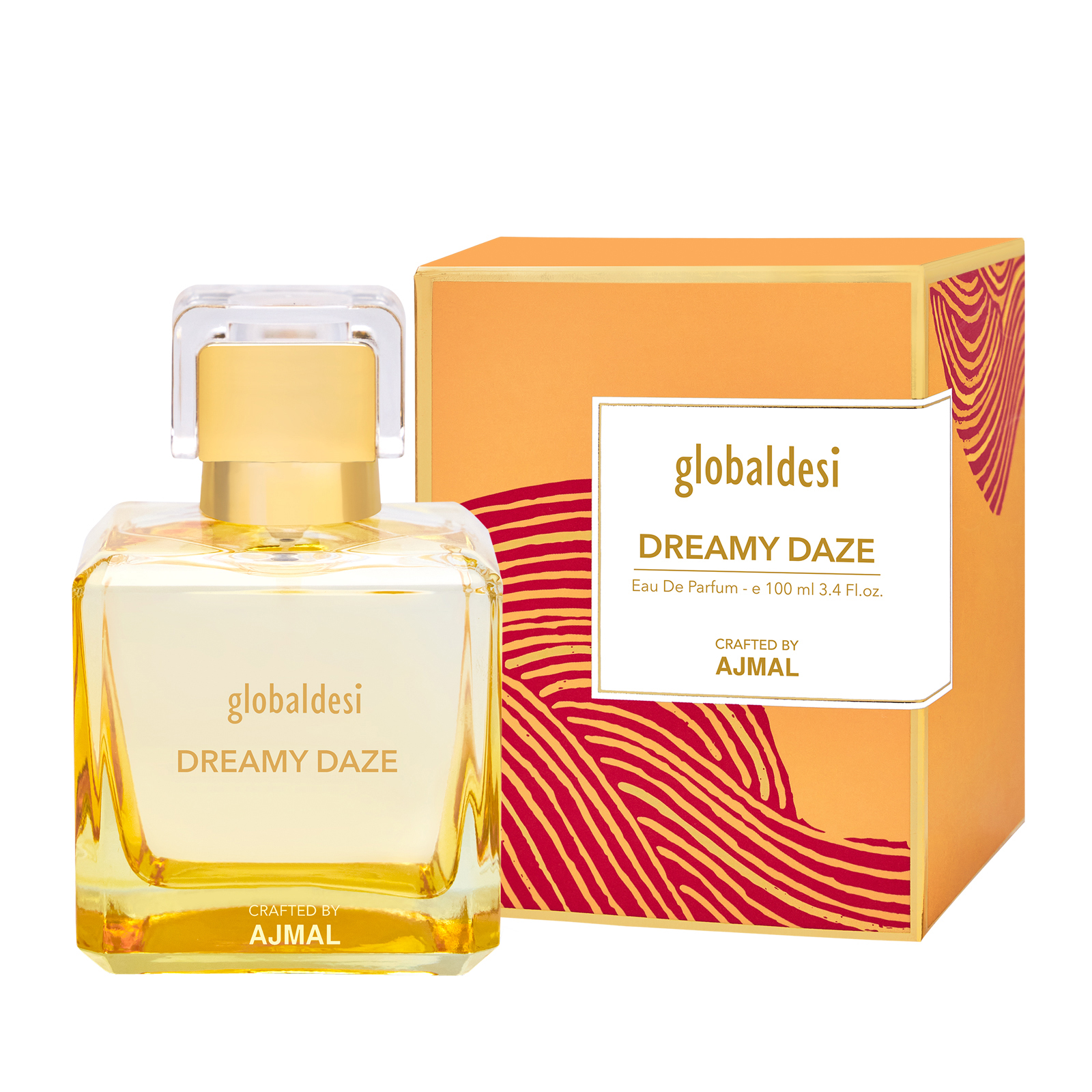 Global Desi Crafted By Ajmal | Global Desi Dreamy Daze Eau De Parfum 100ML for Women Crafted by Ajmal