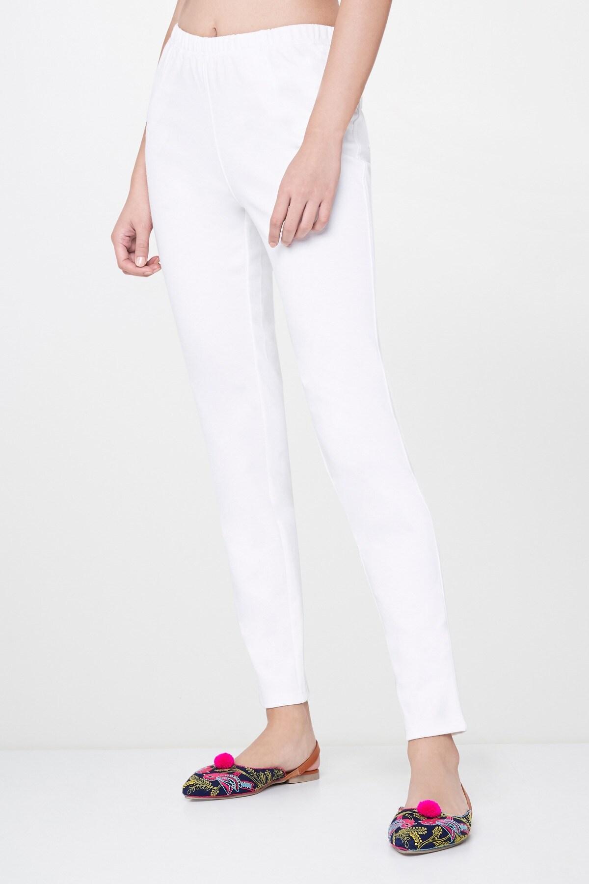 Global Desi   White Legging