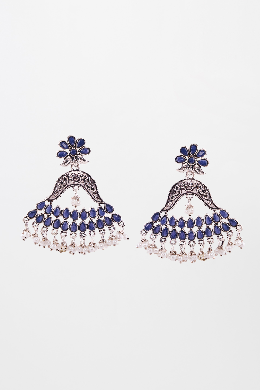 Global Desi | Blue Earrings