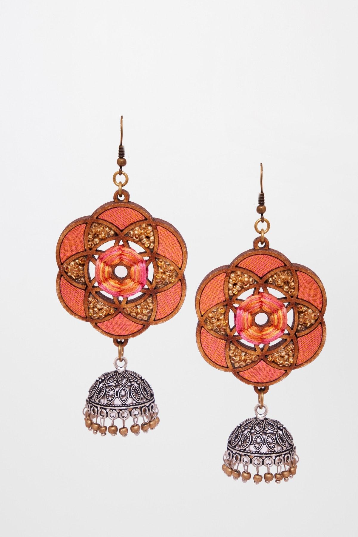 Global Desi | Peach Earring