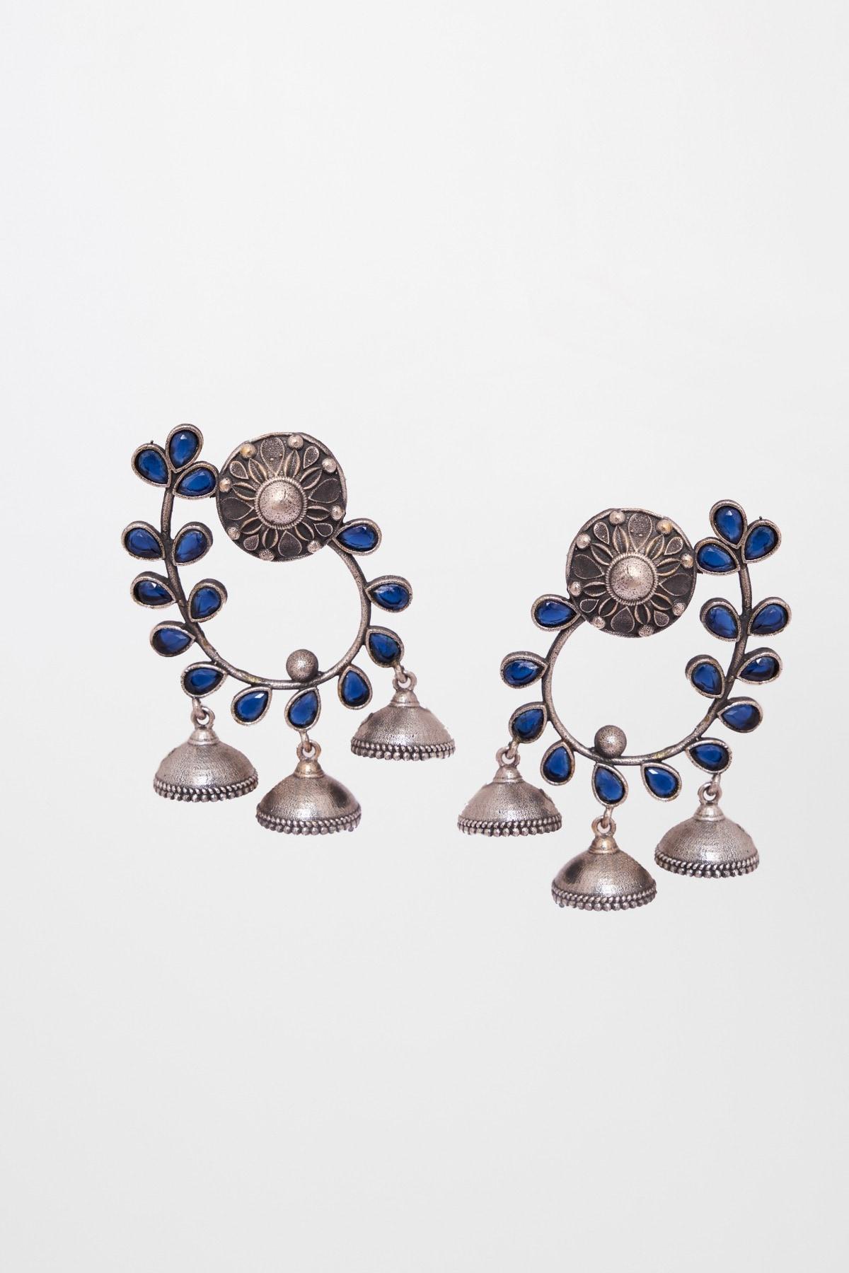 Global Desi | Blue Earring