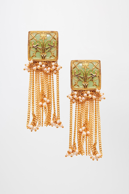 Global Desi | Gold Earrings