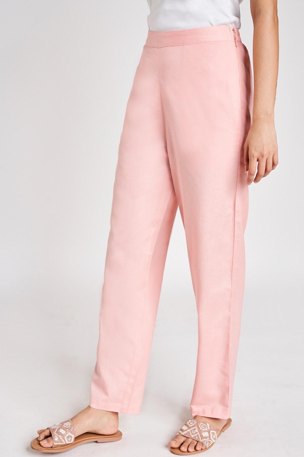 Global Desi   Pink Solid Bottom