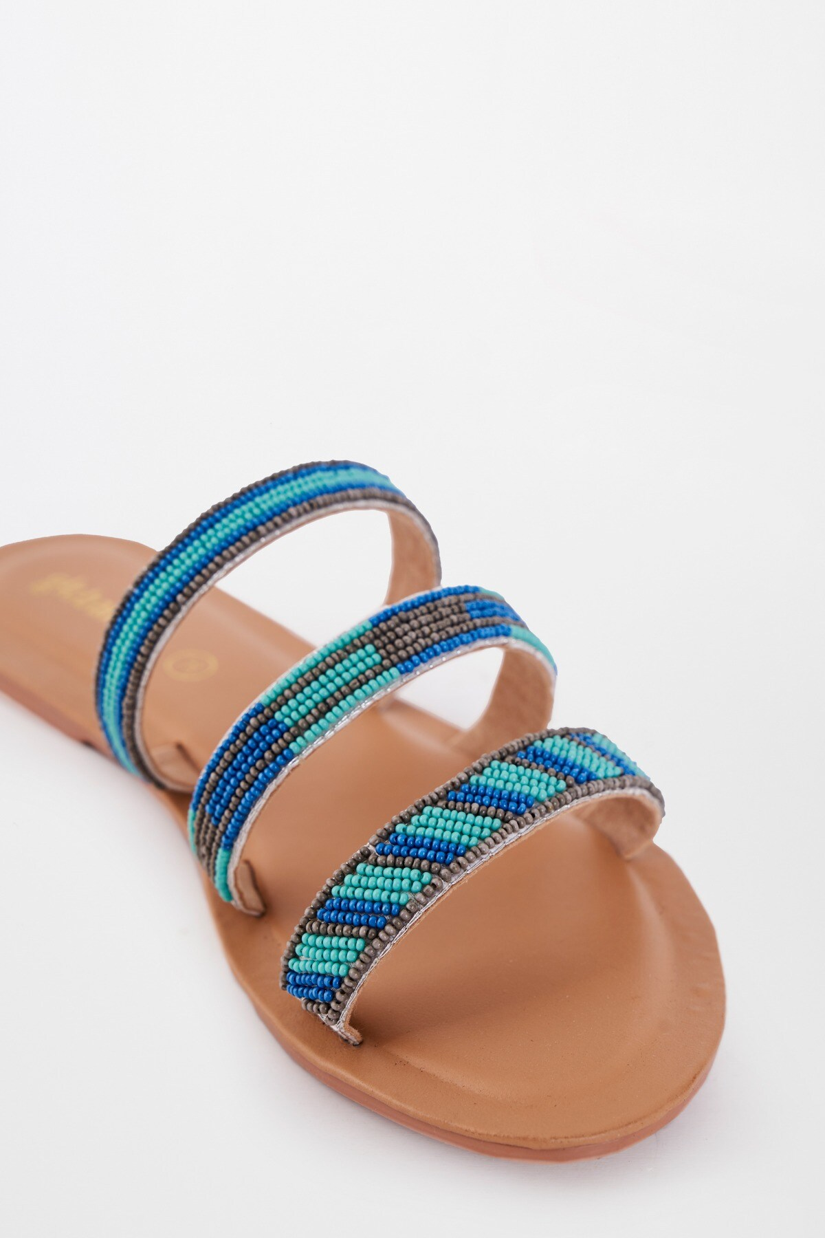 Global Desi | Blue Flat Footwear