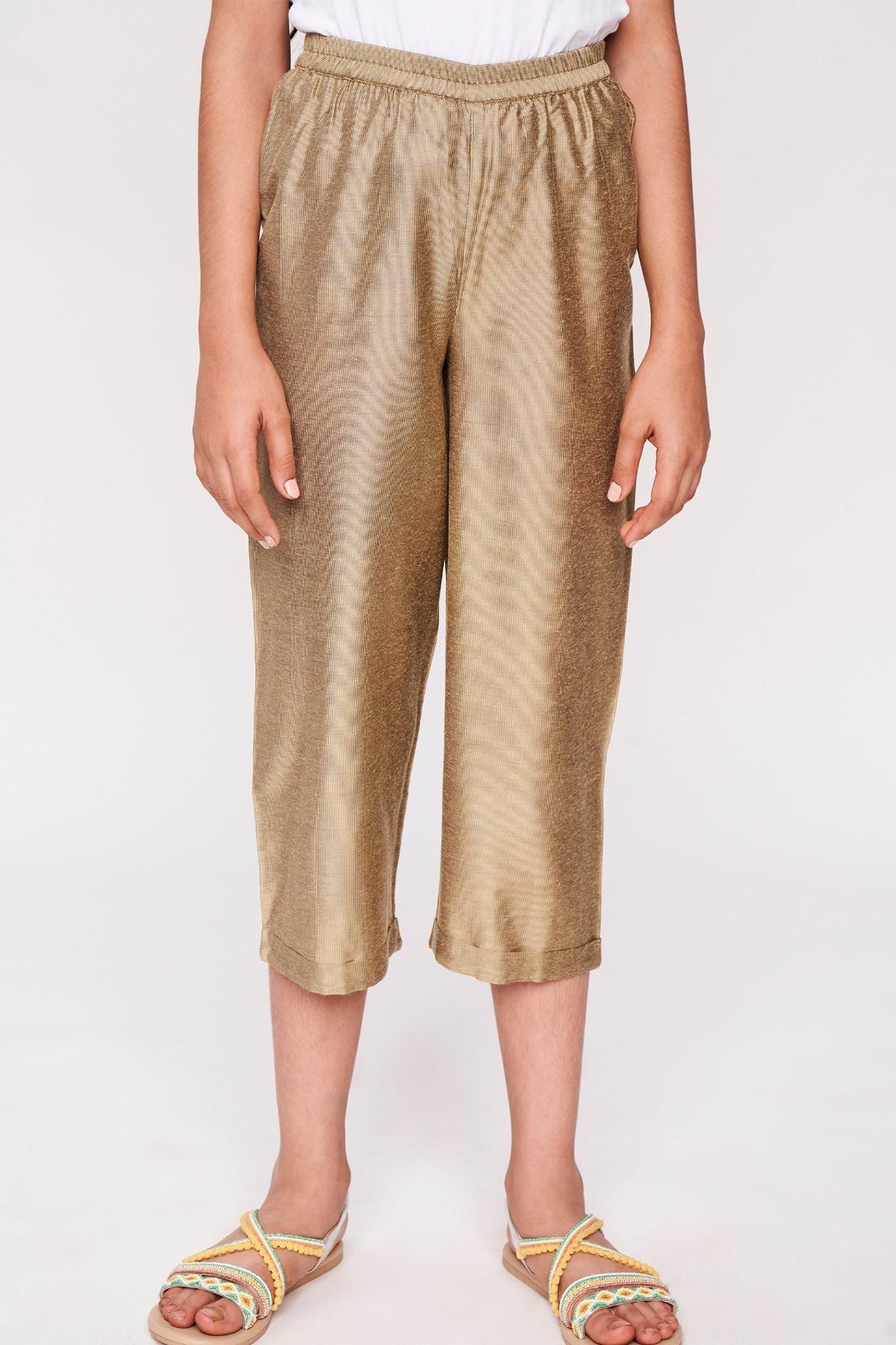 Global Desi | Gold Solid Bottom