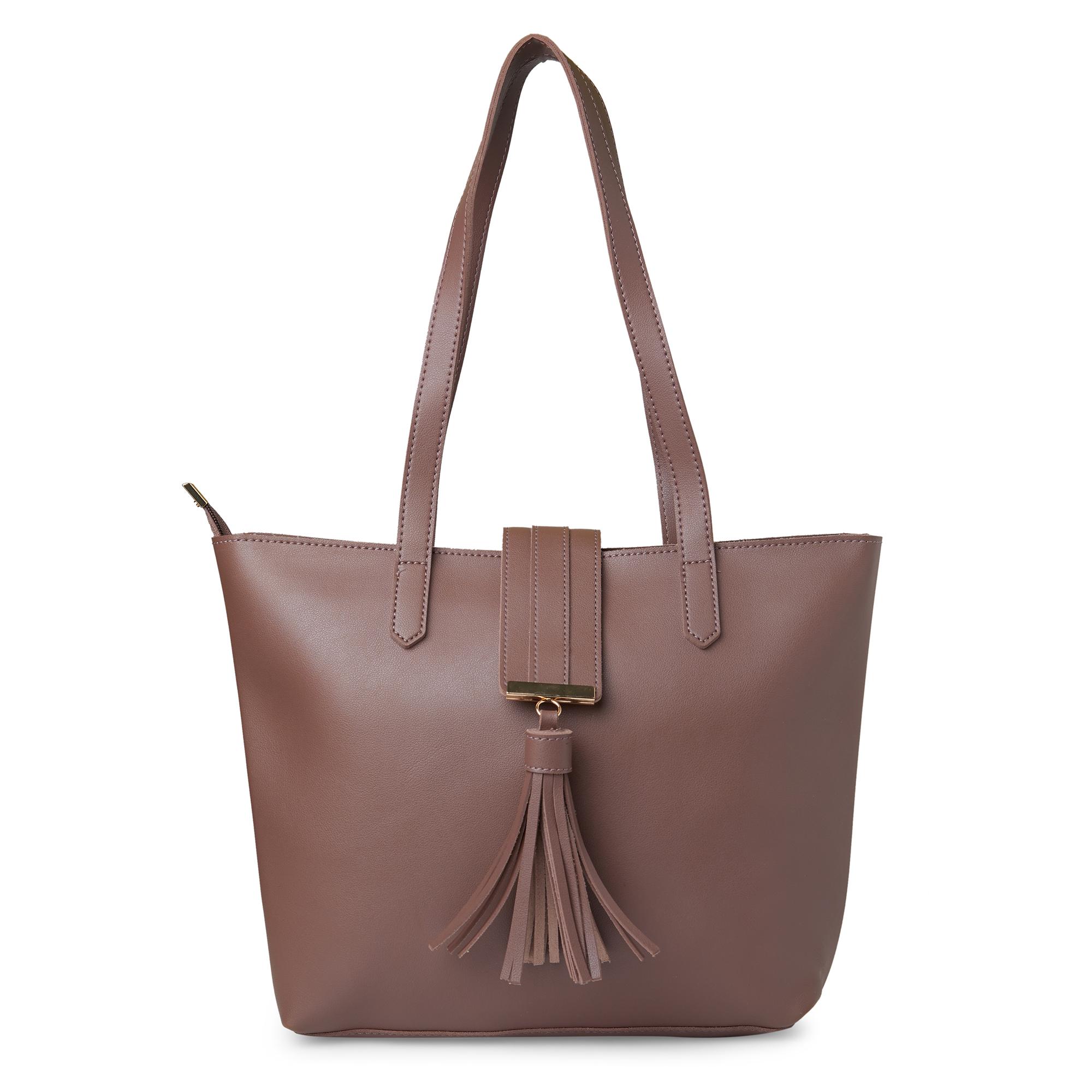globus   Globus Dark Taupe Shopper Bag