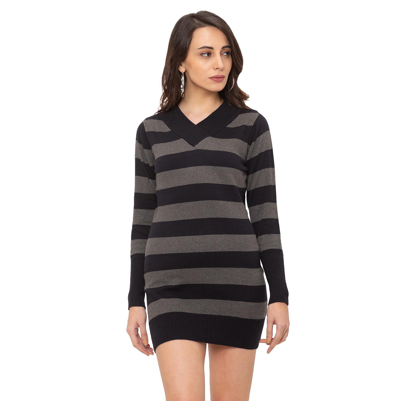 globus | Globus Black Striped Dress
