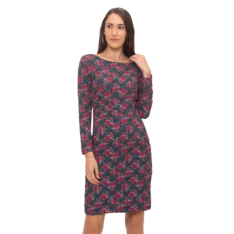 globus | Globus Grey Printed Dress