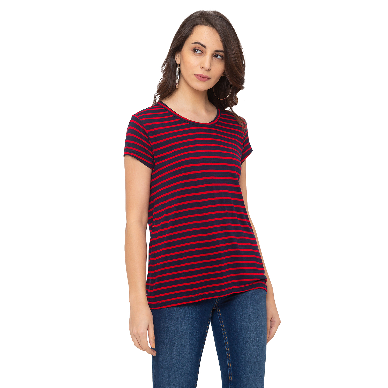 globus | Globus Red Striped T-Shirt
