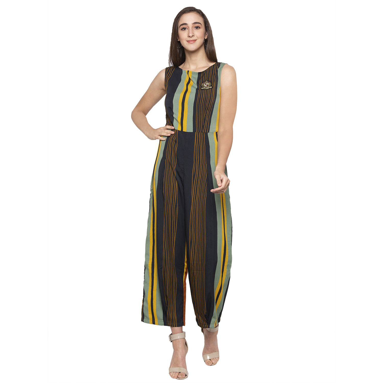 globus   Multicoloured Striped Jumpsuit