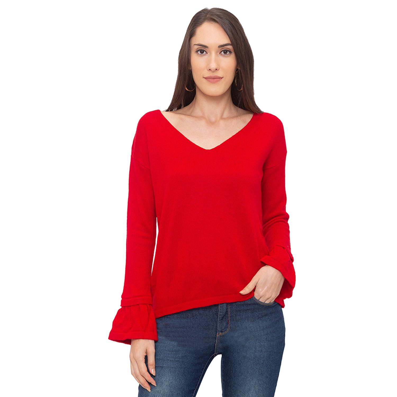 globus | Globus Red Solid T-Shirt