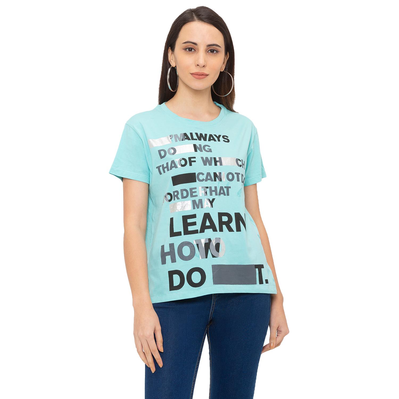 globus | Globus Navy Blue Printed T-Shirt