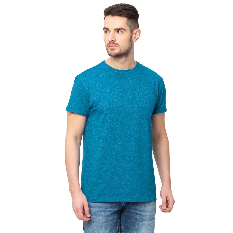 globus   Globus Turquoise Solid T-Shirt