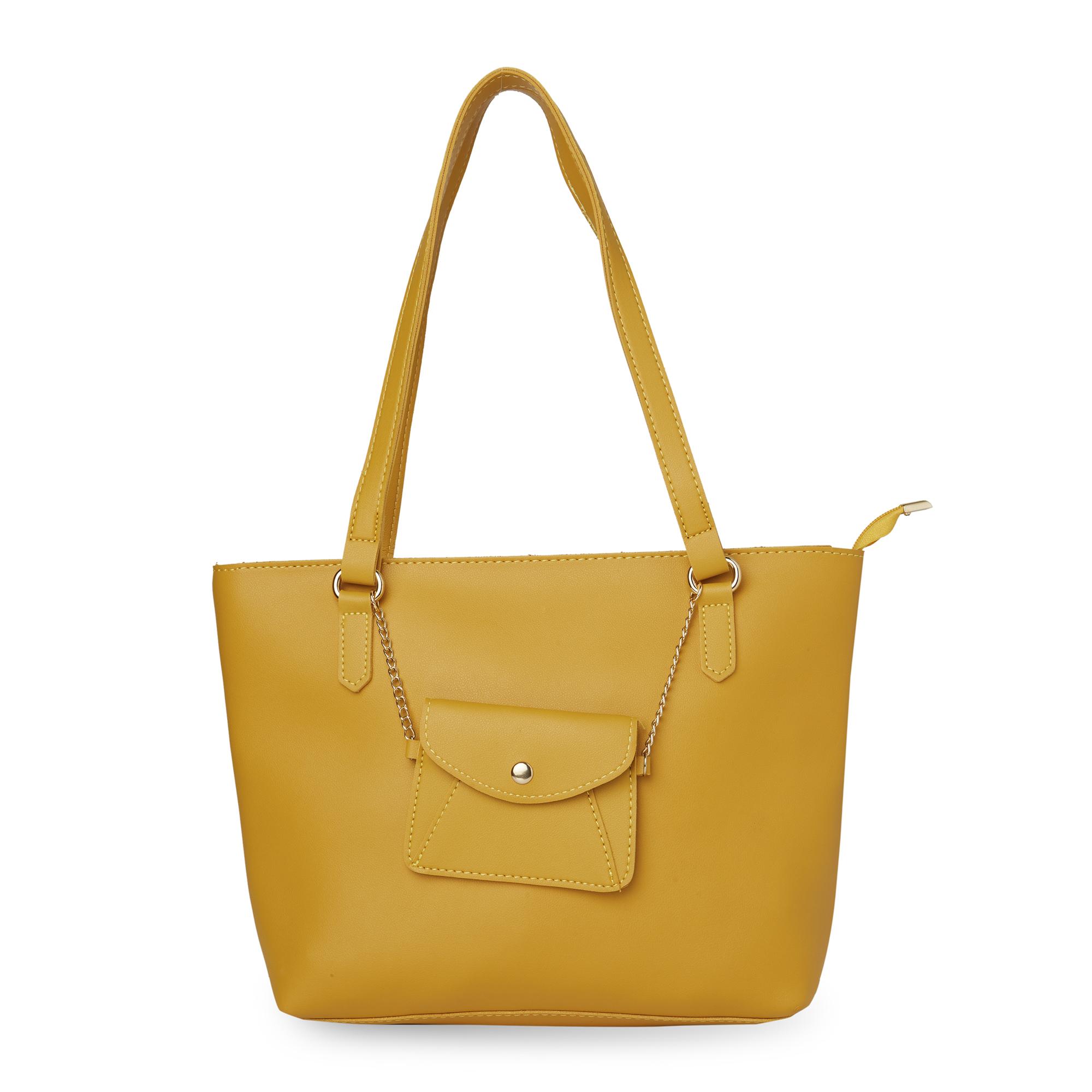 globus   Globus Ochre Shopper Bag