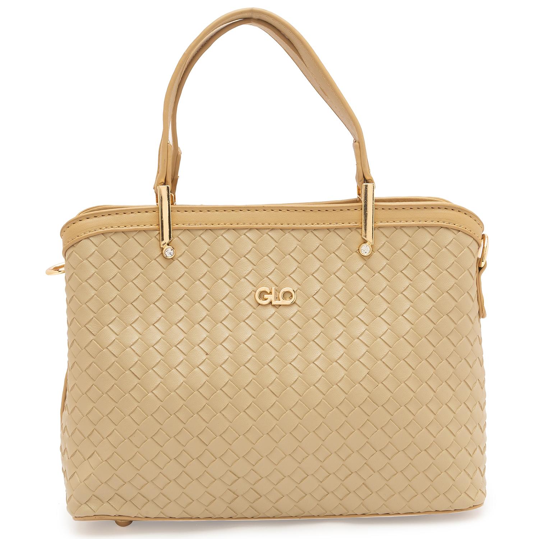 globus   Globus Beige Fashion Bag
