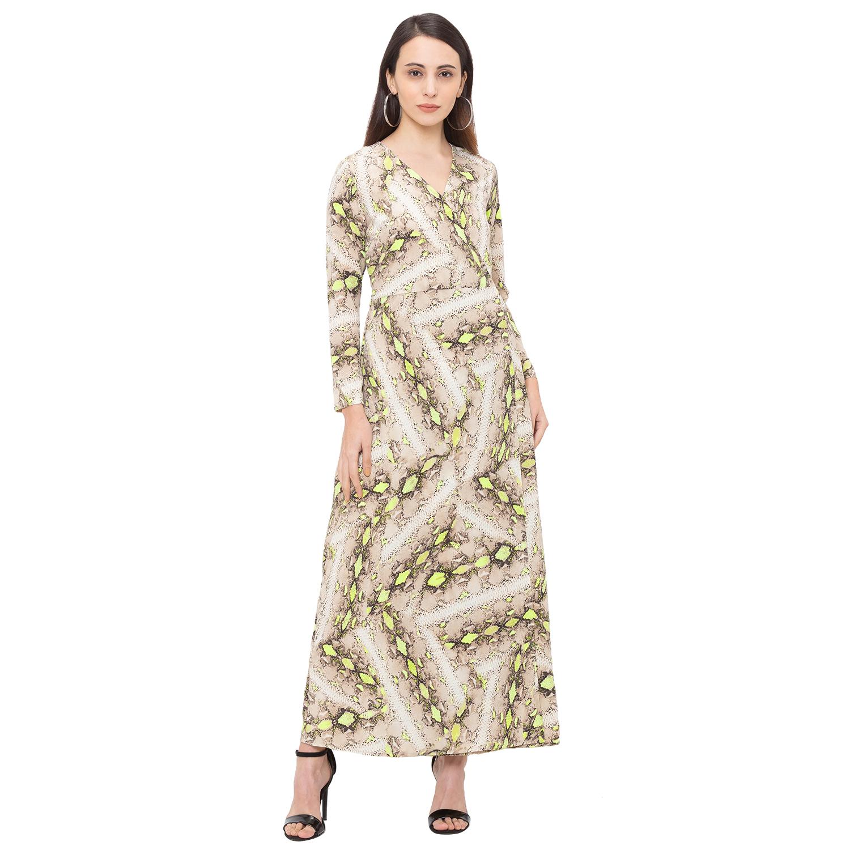 globus | Globus Beige Printed Dress
