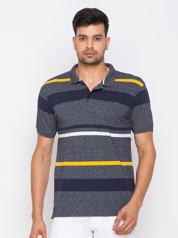 globus | Globus Blue Striped Tshirts