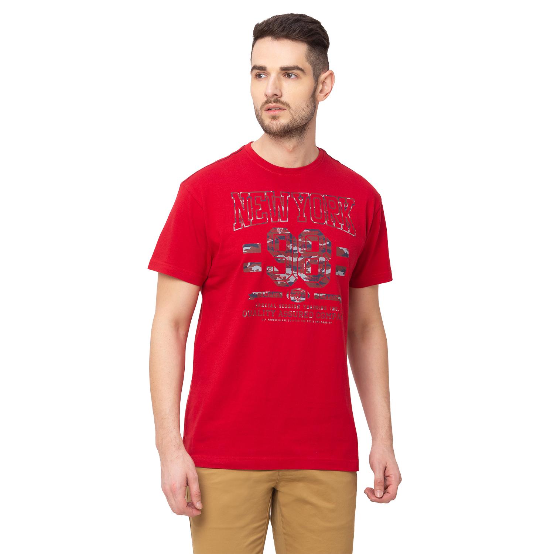 globus | Globus Red Printed T-Shirt