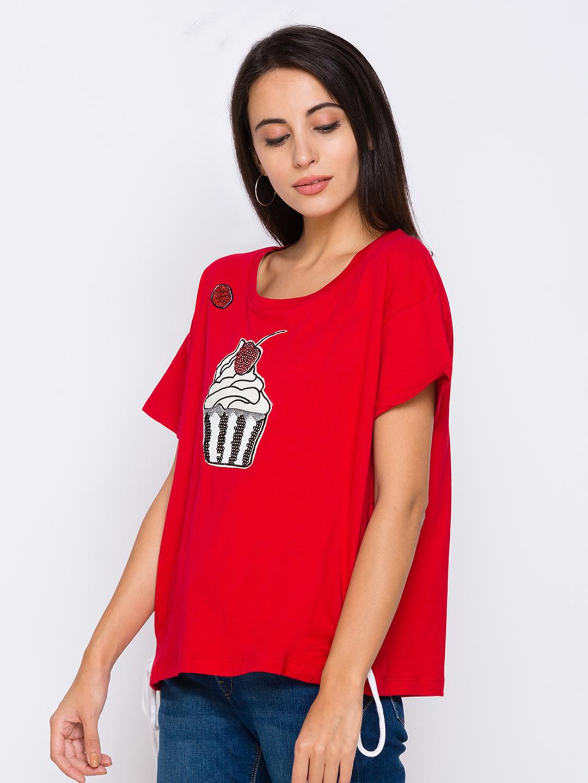 globus | Globus Red Tshirts