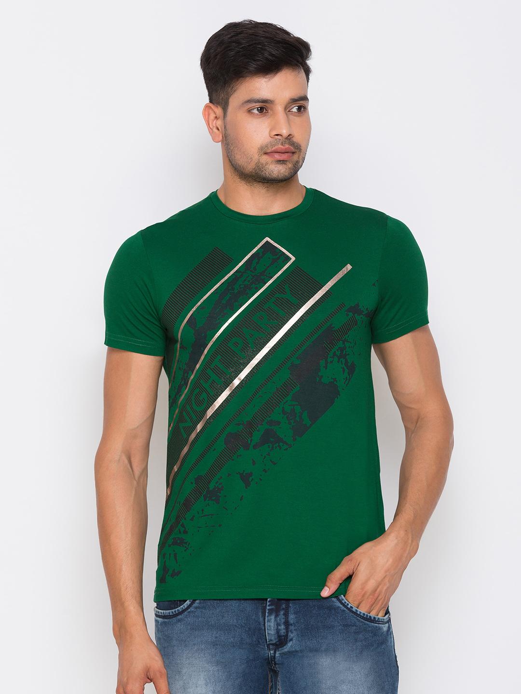 globus | Globus Green Printed Tshirts