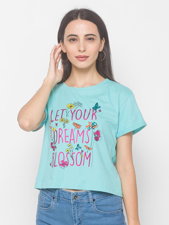 globus | Globus Aqua Sky Print T-Shirt