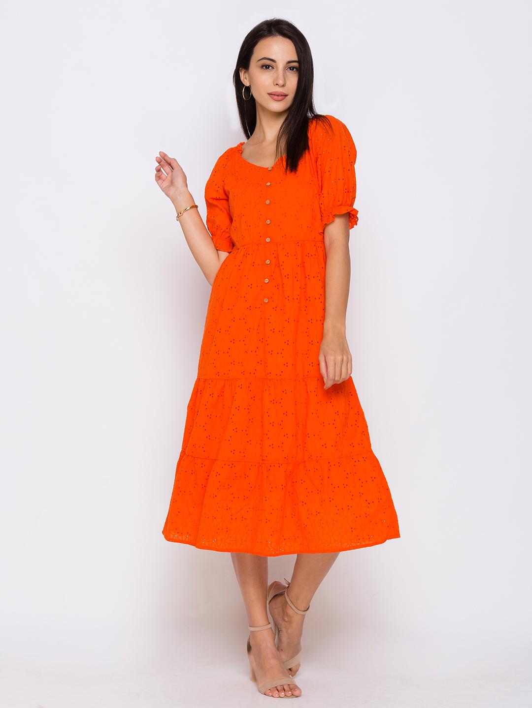 globus | Globus Orange Dresses