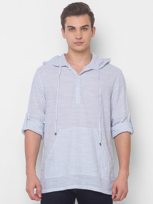 globus   Globus Blue Striped Shirts
