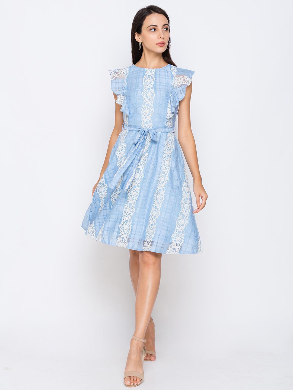 globus   Globus Blue Dresses