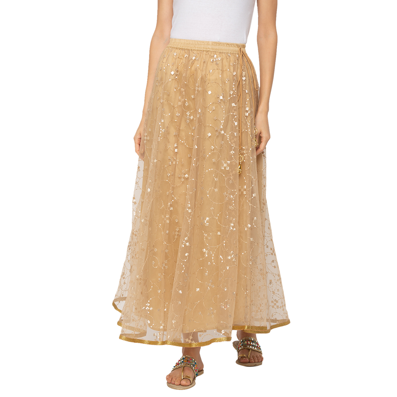 globus | Globus Gold Embellished Skirt