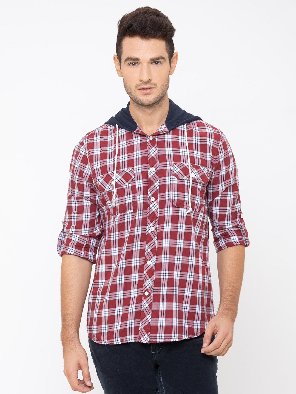 globus | Globus Red Checked Shirt
