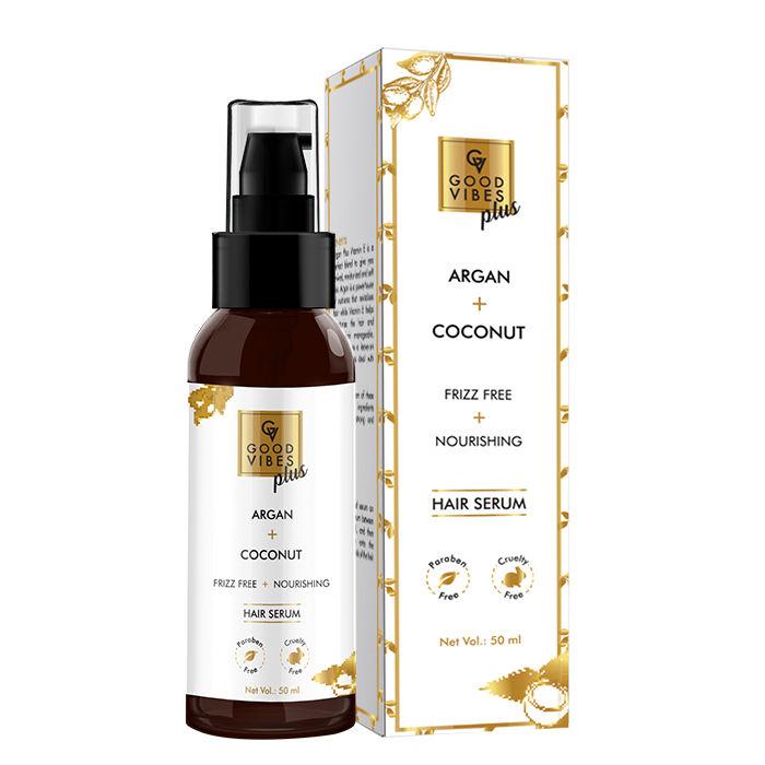 Good Vibes | Good Vibes Plus Argan + Coconut - Frizz Free + Nourishing Hair Serum (50 ml)