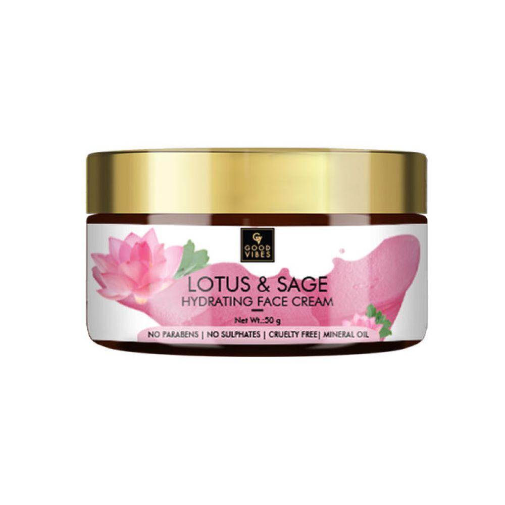 Good Vibes | Good Vibes Hydrating Face Cream - Lotus & Sage (50 g)