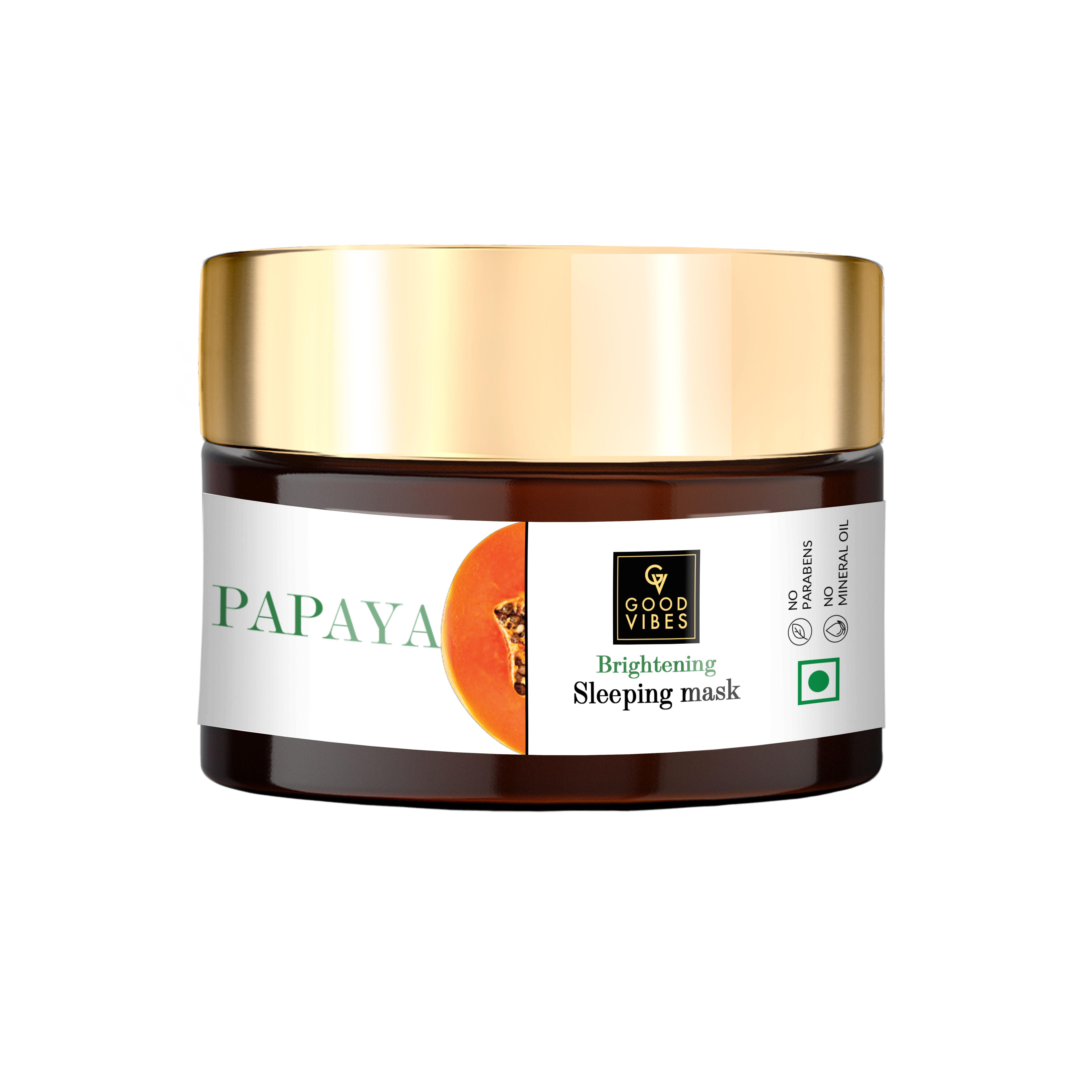 Good Vibes | Good Vibes Papaya Brightening Sleeping Mask (50 g)