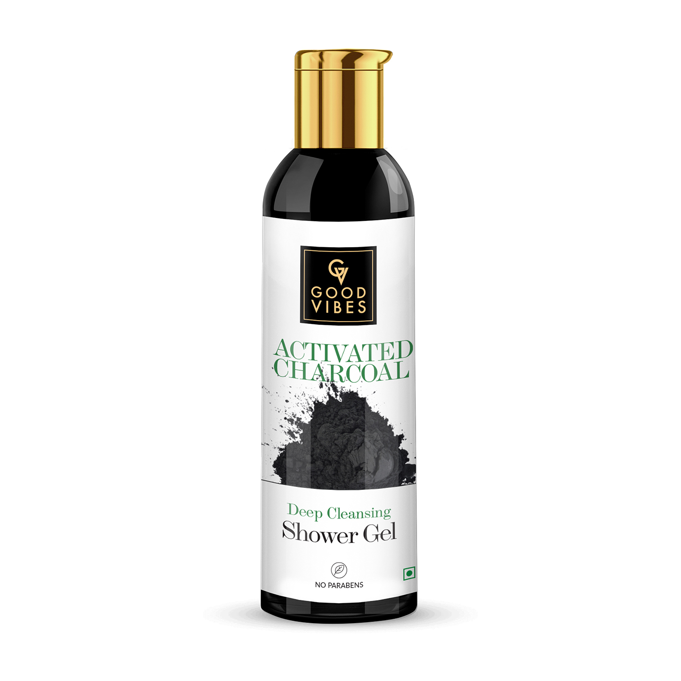 Good Vibes | Good Vibes Deep Cleansing Shower Gel (Body Wash) - Activated Charcoal (200 ml)